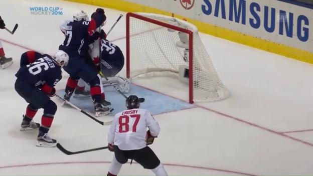 Video «World Cup: Die Tore bei Kanada - USA» abspielen