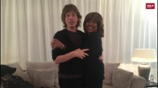 Link öffnet eine Lightbox. Video Legenden-Meeting in Zürich: Tina Turner trifft Mick Jagger abspielen