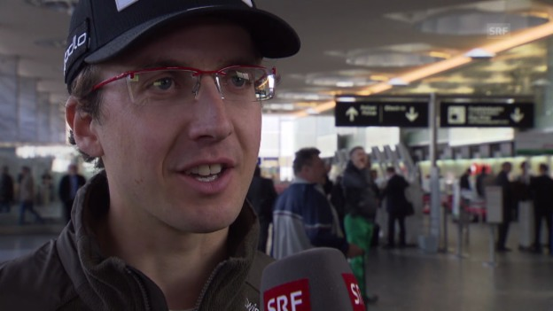 Video «Skispringen: Simon Ammann im Interview» abspielen