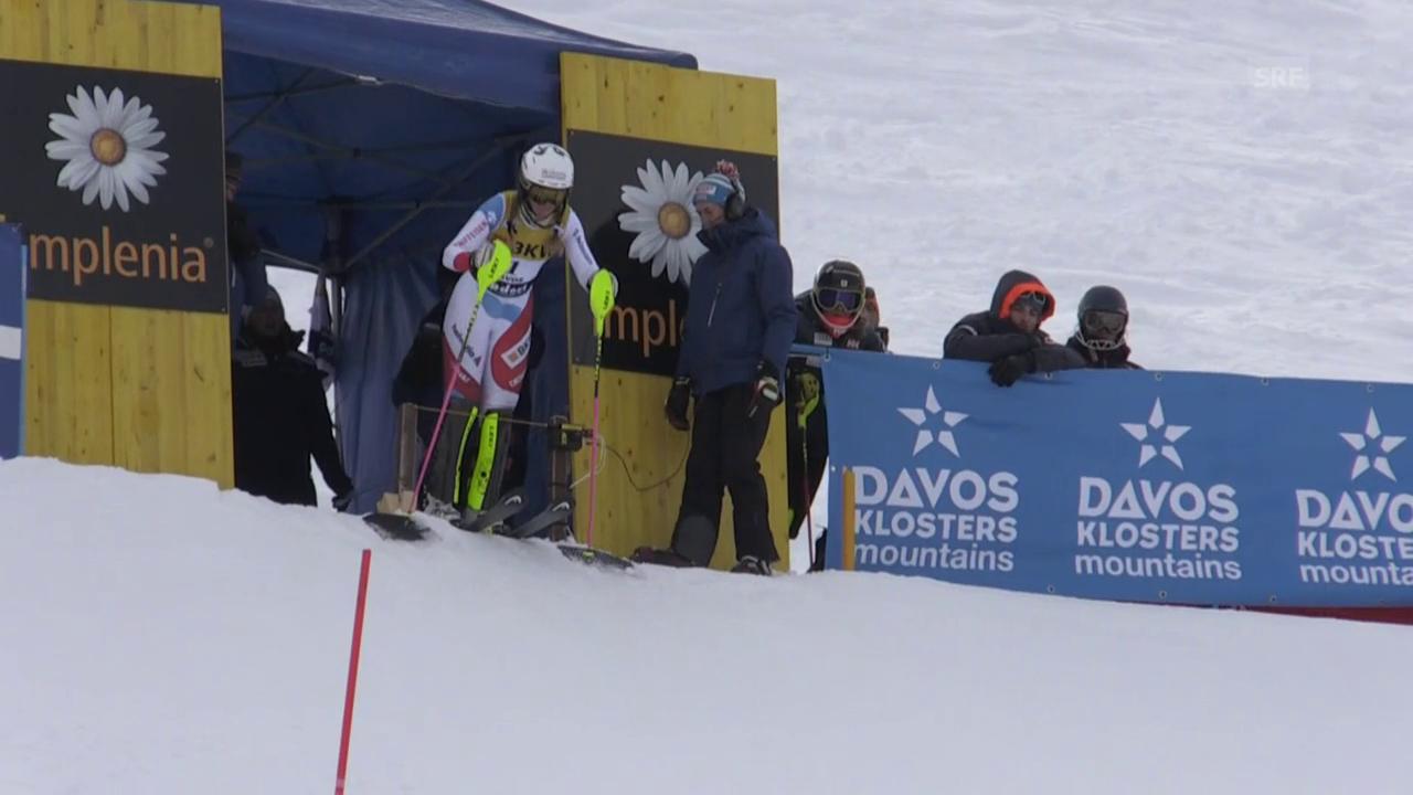 Der Slalom-Lauf von Danioth