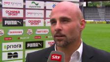 Video «Vaduz-Trainer Contini über den Sieg gegen GC» abspielen
