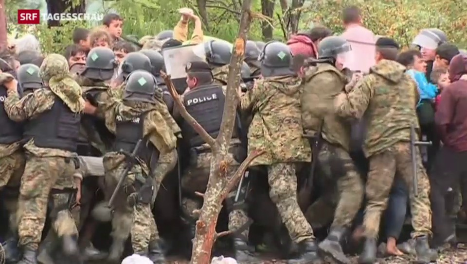 Mazedonien hebt Grenzsperre auf