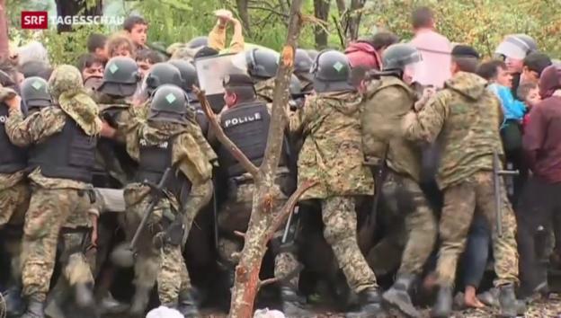 Video «Mazedonien hebt Grenzsperre auf» abspielen