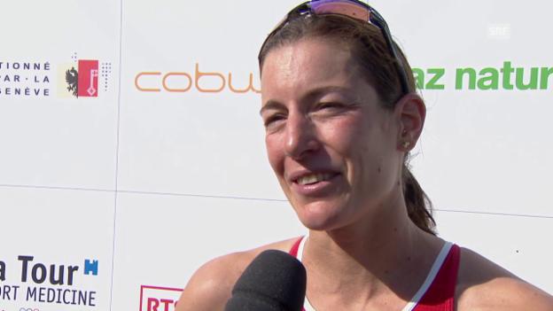 Video «Triathlon: Nicola Spirig im Interview» abspielen