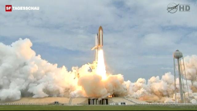 Es ist der letzte Start eines Space Shuttles.