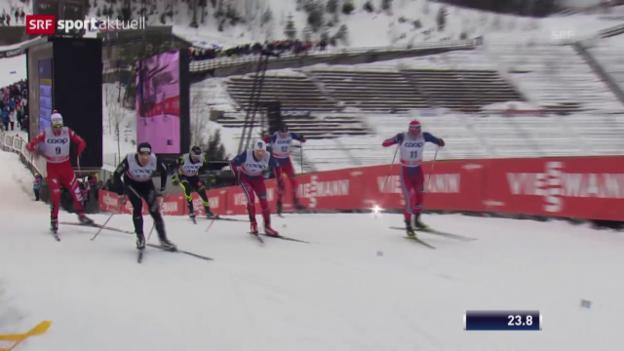 Video «Langlauf: Sprints Männer und Frauen in Lahti» abspielen