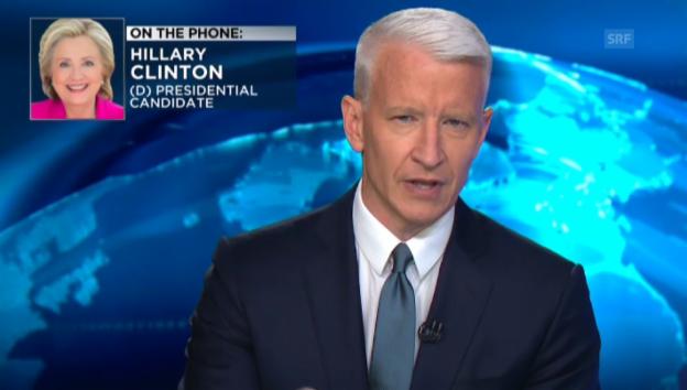 Video «Hillary Clinton spricht auf CNN» abspielen