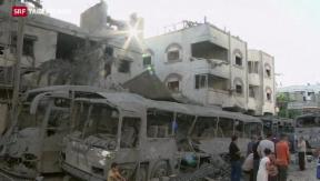 Video «Gaza-Krieg neu entflammt » abspielen