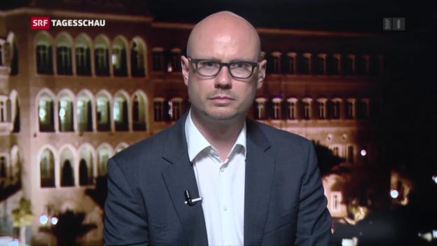 Video «SRF-Korrespondent Pascal Weber zum Verhältnis USA - Golfstaaten» abspielen