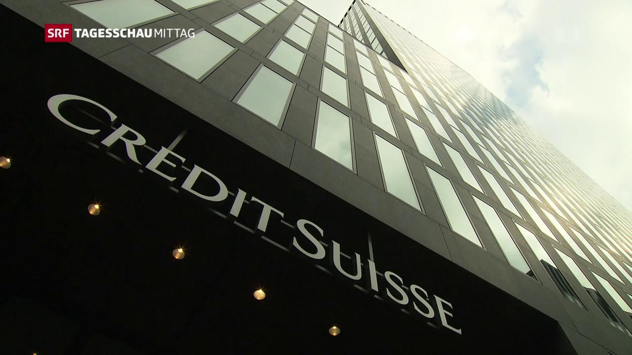 Credit Suisse schreibt wieder Verlust