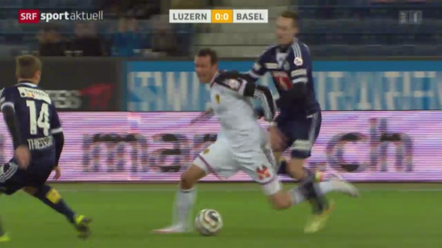 Video «Fussball: Super League, Luzern - Basel» abspielen