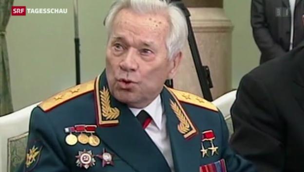 Video «Waffenkonstrukteur Michail Kalaschnikow gestorben» abspielen