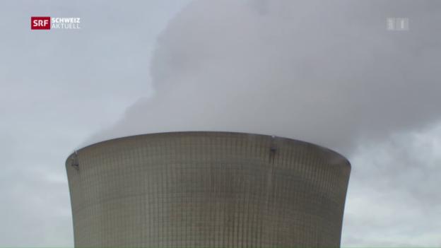 Video «Atomkraftwerk Leibstadt wieder am Netz» abspielen