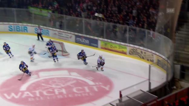 Video «Eishockey: Playout-Final, Biel - Lakers (03.02.2014)» abspielen