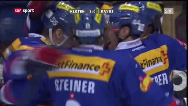 Eishockey: Kloten-Davos