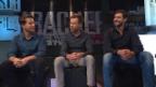 Video «Mario Gyr, Simon Schürch und Simon Niepmann» abspielen