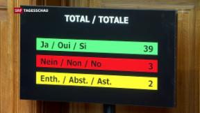 Video «Schweizer Parlament will Klimaabkommen ratifizieren» abspielen
