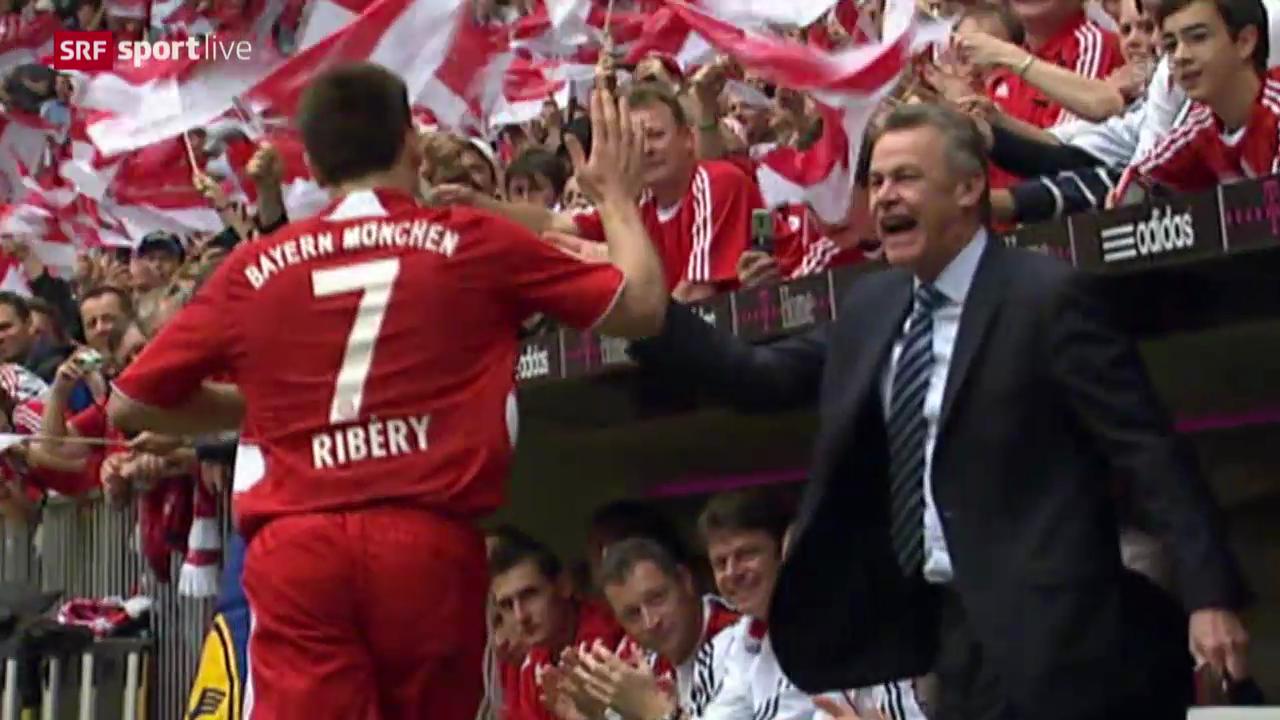 Hitzfelds Karriere als Klubtrainer