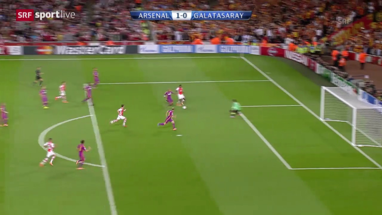 Fussball: CL, Arsenal - Galatasaray
