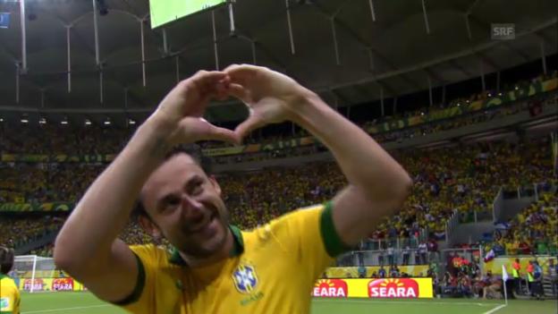 Video «Confed Cup: 2 Tore von Fred gegen Italien» abspielen