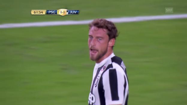 Video «ICC: Die Tore bei Paris SG - Juventus Turin» abspielen