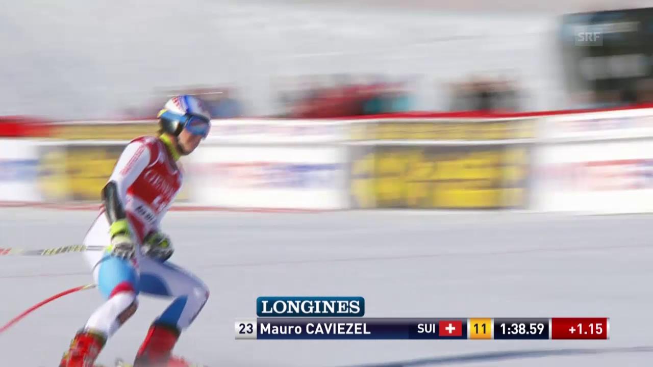 Ski alpin: Weltcup der Männer, Super-G in Kvitfjell, Mauro Caviezel
