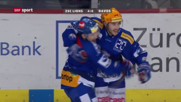 Video «Highlights ZSC Lions - HC Davos («sportaktuell)» abspielen