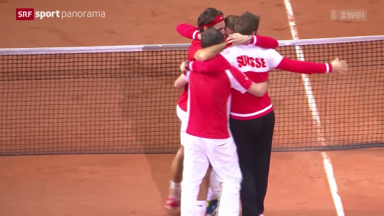 Tennis: Schweiz gewinnt den Davis Cup