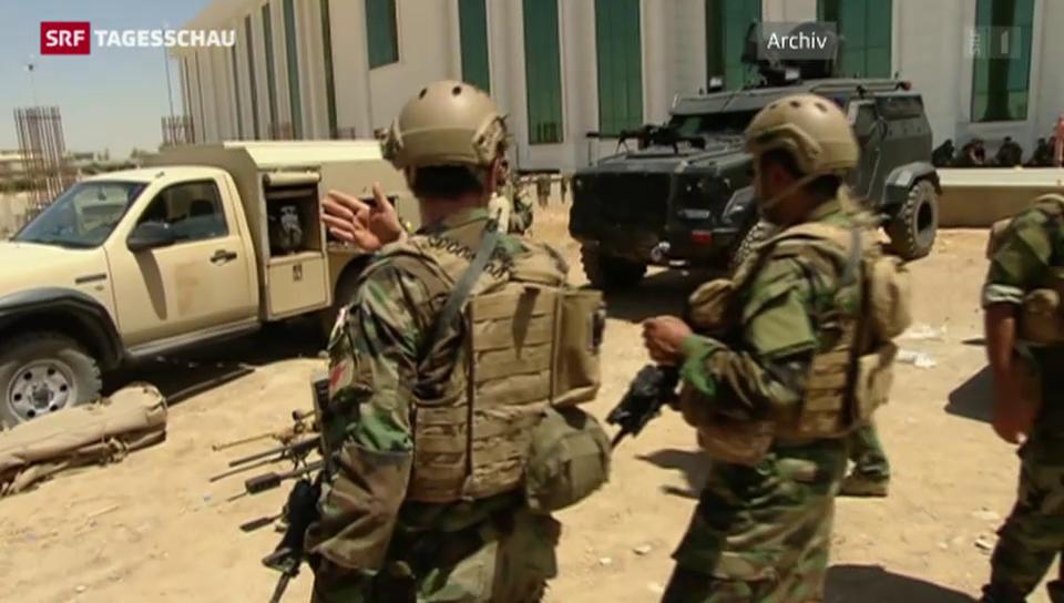 Offensive gegen den IS-Vormarsch