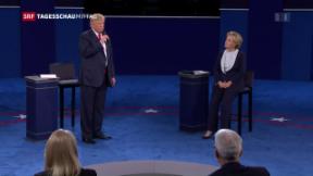 Video «Zweite Debatte Clinton-Trump» abspielen