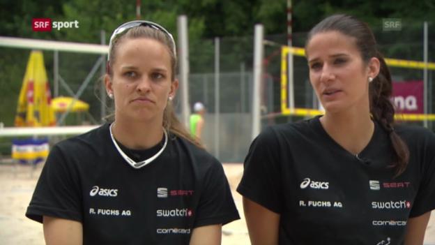 Video «Die Schweizer Duos vor der WM («sportpanorama»)» abspielen