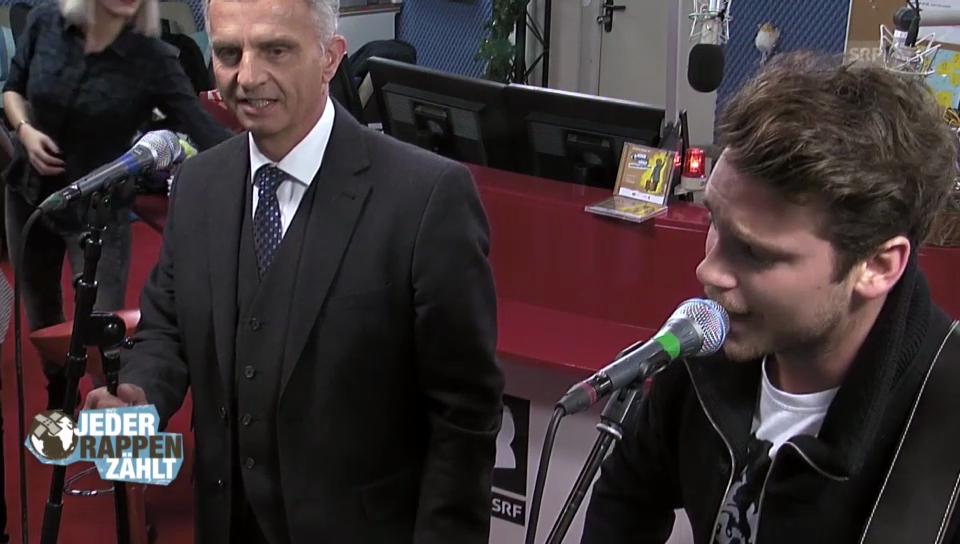 Didier Burkhalter bei JRZ