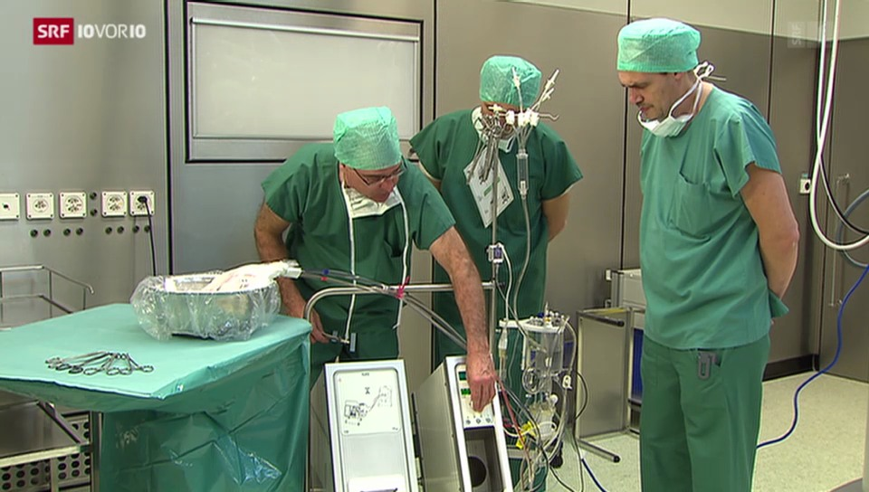 Neue Methode bei Lebertransplantationen