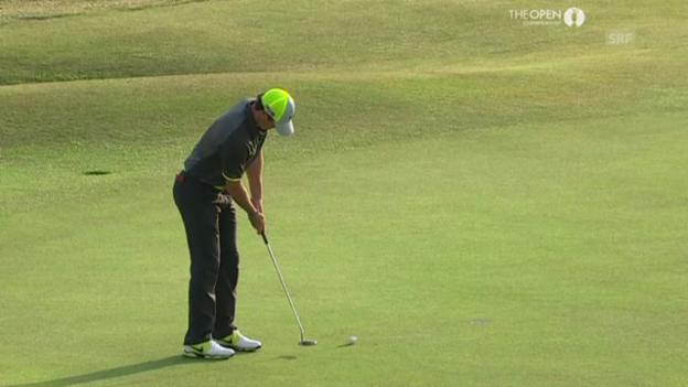 Video «Golf: Die Birdies von Rory McIlroy auf den letzten beiden Löchern (Quelle: SNTV)» abspielen