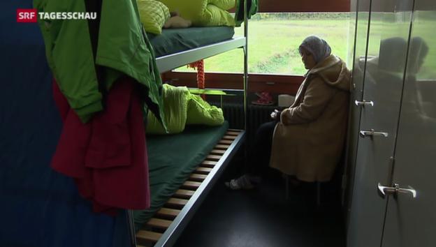 Video «Bremgarten: Die Asylunterkunft ist kein Problem» abspielen