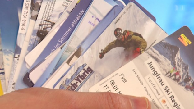 Video «Ärger mit Skikarten: Wenig Spass mit Swiss Pass» abspielen