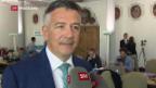 Video «Der Nidwaldner Hans Wicki will Bundesrat werden» abspielen