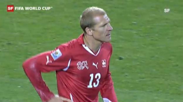 Video «WM 2010: Schweiz - Honduras» abspielen