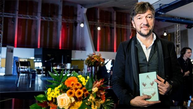 Lukas Bärfuss im Interview nach der Bekanntgabe des Buchpreises