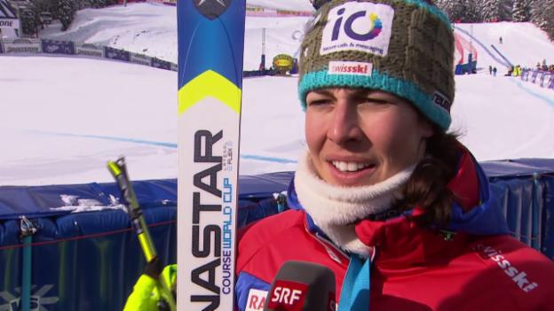 Video «Interview Dominique Gisin» abspielen