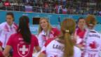 Video «Curling: Das Schweizer Frauen-Team gegen Kanada» abspielen