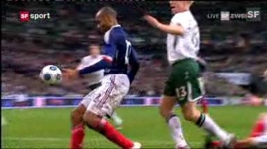 Das Handspiel von Thierry Henry