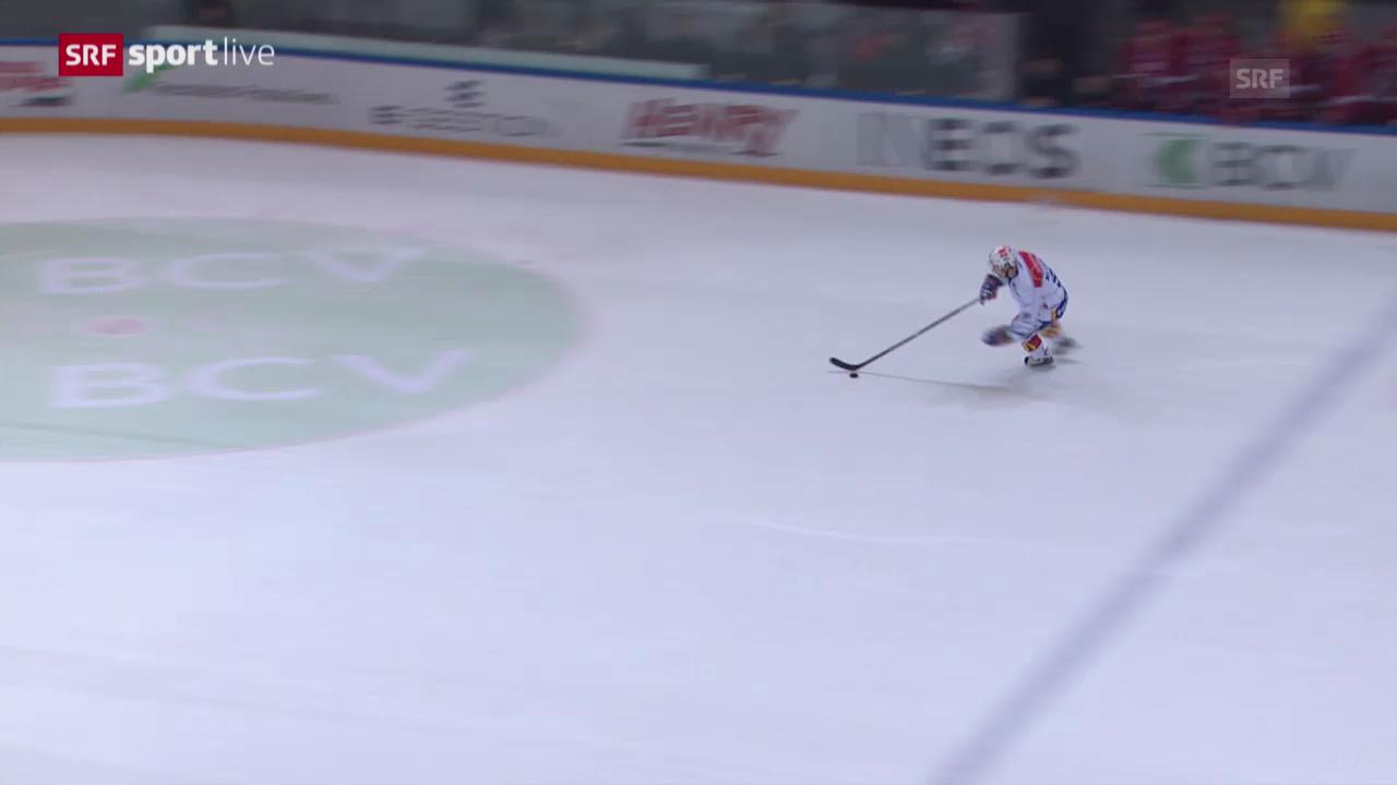 Eishockey: Lausanne - ZSC Lions, das Penaltyschiessen («sportlive», 13.3.14)