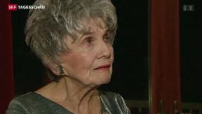 Video «Literatur-Nobelpreis für Alice Munro» abspielen