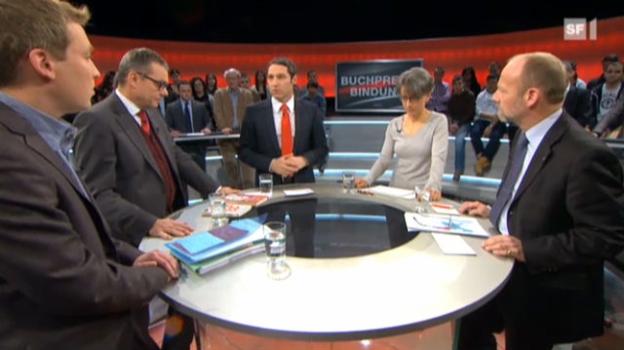 Video «Abstimmungs-Arena: «Buchpreisbindung»» abspielen