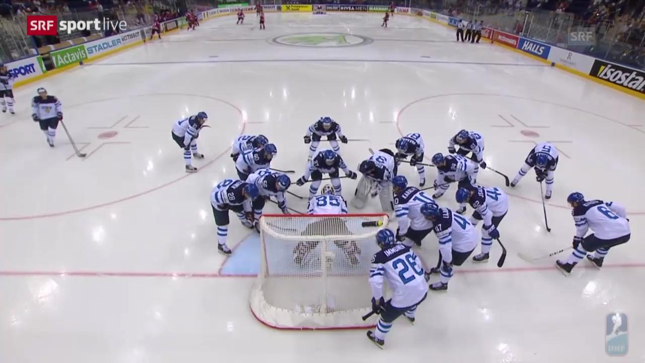 Eishockey: WM-Viertelfinal Finnland - Kanada, Zusammenfassung