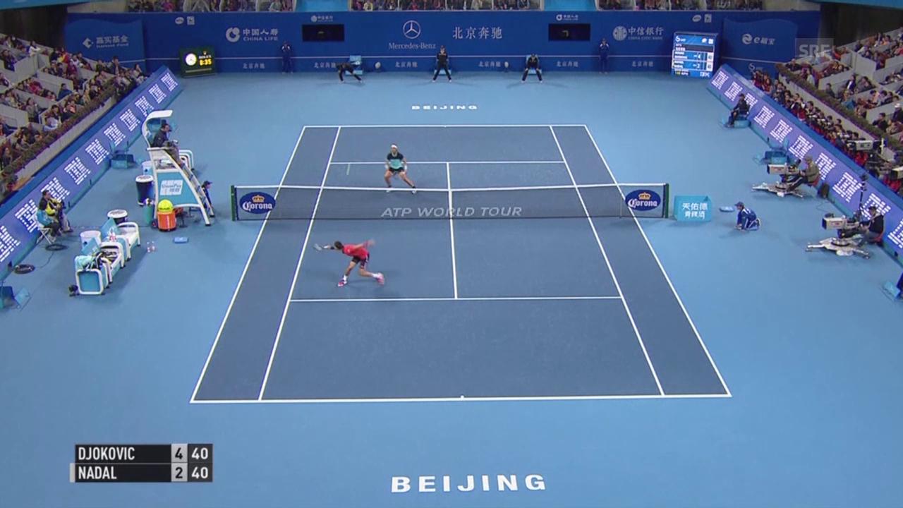 Tennis: ATP Peking, Final Djokovic - Nadal