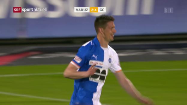 Video «Vilotic trifft gegen Vaduz» abspielen