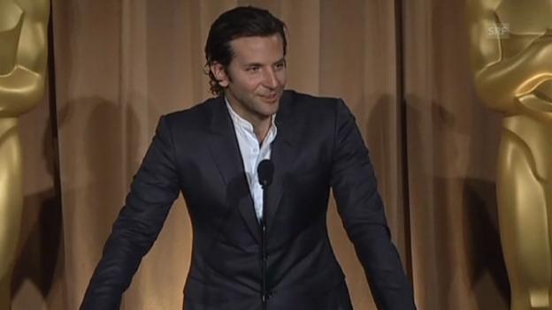 Video «Die Oscar-Nominierten: So nervös sind die Hollywood-Stars.» abspielen
