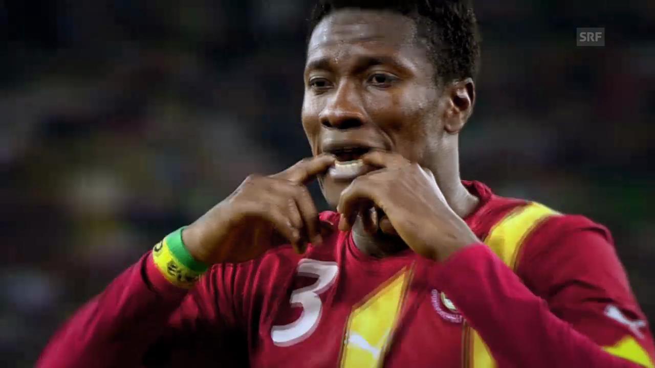 Fussball: FIFA WM 2014, Ghana vor dem WM-Start